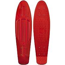 Penny - Tabla para monopatín (22 pulgadas), color rojo