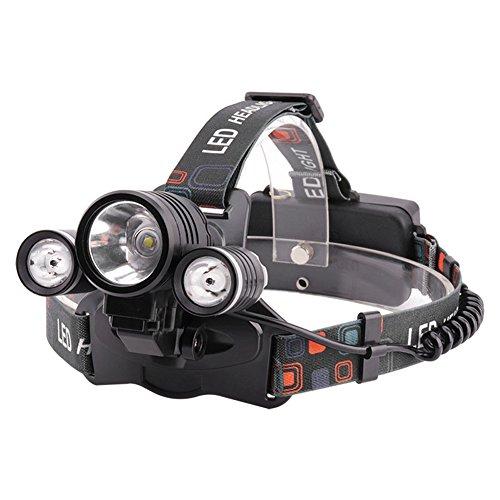YI FLY Stirnlampe High-Power-Blendung Rotlicht Taschenlampe Bienenzucht Licht Angeln Nacht USB Lade Fahrrad Licht
