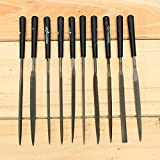 10pc Needle File Set Files For Metal Glass Stone Jewelry Wood Carving Craft Tool