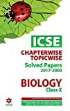 ICSE Chapterwise-Topicwise Solved Papers Biology Class 10th
