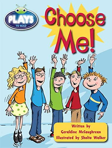 Julia Donaldson Plays Lime/3C Choose Me 6-pack (BUG CLUB)