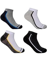 Lot de 12 chaussettes basses L&K-II Socquettes homme multicolore coton 92204