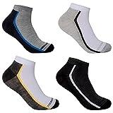 L&K 12 paia Calze da Uomo sportive Sneaker Calzini Cotone comodo multicolore 2123 39-42