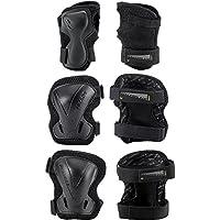 Rollerblade EVO Gear Pack 3Protectores, Primavera/Verano, Unisex, Color Negro, Tamaño Small