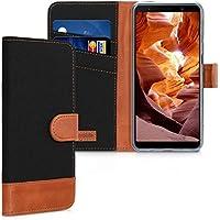kwmobile Funda para Samsung Galaxy A7 (2018) - Carcasa de Tela y [Cuero