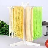 vanra Pasta Trocknen Rack, zusammenklappbar für einfache Lagerung Weiß