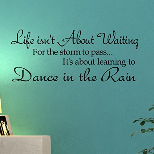 Fairy Season Wall Art Sticker Quote Wall Decal for Living Room Bedroom Kitchen