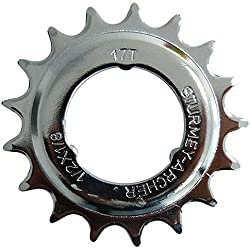 SunRace Steckkranz 17Z. 1/2x1/8Zoll gekröpft Fahrrad