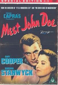 Meet John Doe (Special Edition) [DVD] [NTSC]