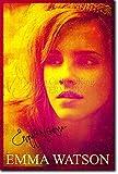"""Emma Watson Poster Photo 3 """"GOLD"""" (Avec Reproduction d'Autographe Signé) Oeuvre Imprimée Unique Cadeau 30x20 cm affiche"""