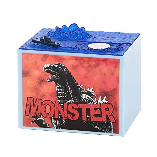 Godzilla Monster Dinosaurier Musik Dinosaurier Geld Kasten Bank Piggy Bank Weihnachtsgeschenk für Kinder des neuen Jahres Yalatan (Musik Geld Und)