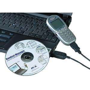 Hama 38419 Accessoire téléphonie mobile Câble data USB SONY ERICSSON T200 / T230 / 7300 / T310 / T600 / T610 / T630 / T68i / Z200 / Z600 / K700i