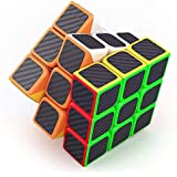 Babytintin High Speed 3x3 Neon Colors Magic Rubik Cube Puzzle Smooth Magic Rubik's Cube 3D - Brain Teaser Puzzles Recommended For 3 - 99 Years