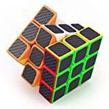 #6: Babytintin High Speed 3x3 Neon Colors Magic Rubik Cube Puzzle Smooth Magic Rubik's Cube 3D - Brain Teaser Puzzles Recommended for 3 - 99 Years
