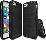 iPhone SE / 5S / 5 Case, Ringke [ONYX] [Resilient Strength] Flexible Durability, Durable Anti-Slip, TPU Defensive Case for Apple iPhone SE 2016 / 5S 2013 / 5 2012 - Black