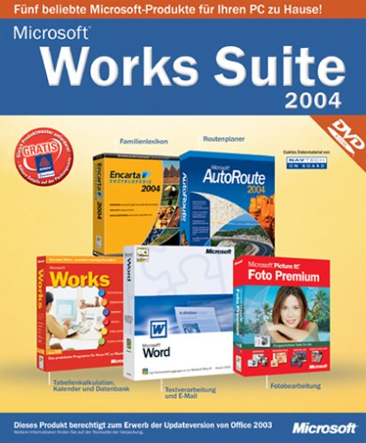 Microsoft Works Suite 2004