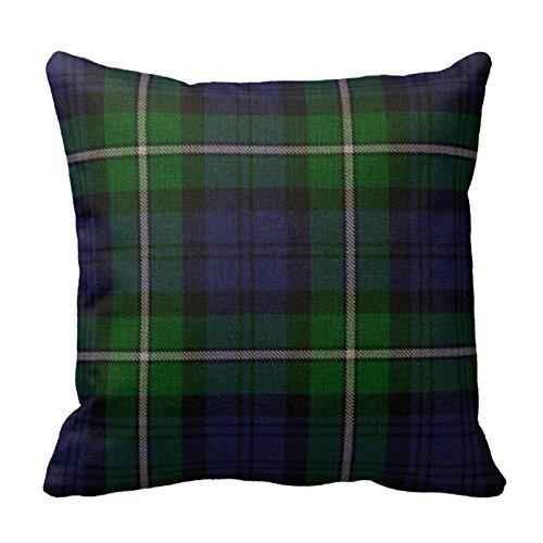 romantichouse-cotton-linen-square-decorative-traditional-forbes-tartan-plaid-pillowcase-by-romantich