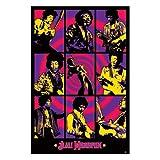 Jimi Hendrix - Purple Haze Montage - Maxi Poster - 61 cm x 91.5 cm