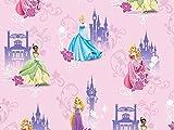 Baumwolljersey Disney Princesses, Meterware ab 0,5 m/Top-Qualität/Öko-Tex 100