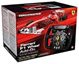 "Thrustmaster 4160571 Ferrari F1 Add-On Wheel - Volante de carreras desmontable con sistema ""Thrustmaster Quick Release"""
