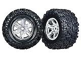 Traxxas x-maxx Satin Chrom Räder und Reifen zubehör/Werkzeuge