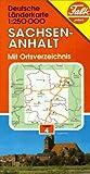 Falk Pläne, Sachsen-Anhalt (German Lander)