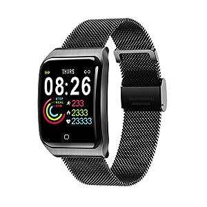 Chenang Smartwatch Smart Armband Blutdruck Uhr Herzfrequenz Wasserdicht Fitness Tracker Aktivitätstracker GPS Bluetooth Sports Watch Schlafmonitor Schrittzähler für iOS Android