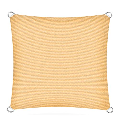 ESTEXO Sonnenschutzsegel Schattenspender Sonnensegel Sonnenschutz UV-Schutz HDPE