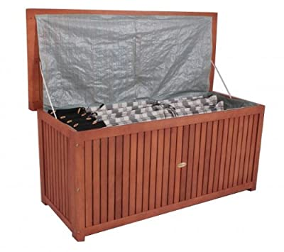 Auflagenbox Akazie FSC - Holz geölt