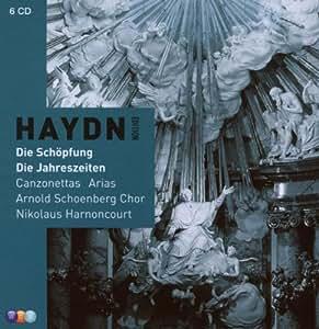 Haydn : Vol 6 Oratorios & Opera : Die Schopfung, Die Jahreszeiten, Original Canonzettas  Books 1 & 2; Arias, Cantata, Cavatina, Insanae et vanae curae