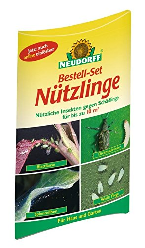 Neudorff Bestell-Set - Nützliche Insekten Gegen Schädlinge für bis zu 10m²