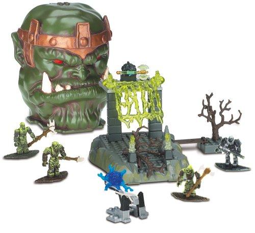 Mega Bloks Fire Cavern Bone Dragon Skull 9427 by Plasma