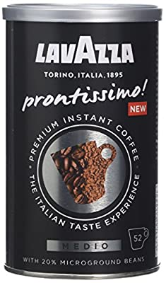 Lavazza Prontissimo Medio Instant Coffee, 95 g, Pack of 6