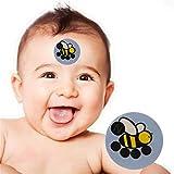 Arvin87Lyly Stirn Thermometer Aufkleber Für Kinder Kinder Stirnthermometer Baby Pflege LCD Fieber Thermometer Aufkleber Stirn Thermometer Aufkleber