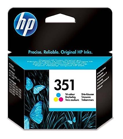 HP 351 Tri-color Original Ink Cartridge (CB337EE)