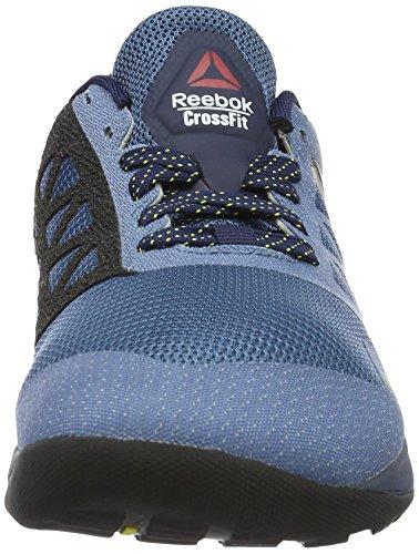 Reebok Herren Crossfit Nano 6.0 Hallenschuhe Blau (slate/collg Nvy/royal Slate/hero Ylw/blk/pwtr)