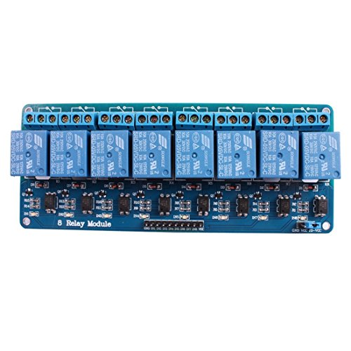 Auslese™ 12V Relay Board Module 8 Channel Relay Control Panel Plc Relay 5V Module with Optocoupler for Arduino Avr Arduino Raspberry Pi and Other Mcu  available at amazon for Rs.599