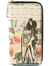 histoireDaccessoires - Portefeuille, Tout en un Femme - PM004530R-OE-Java