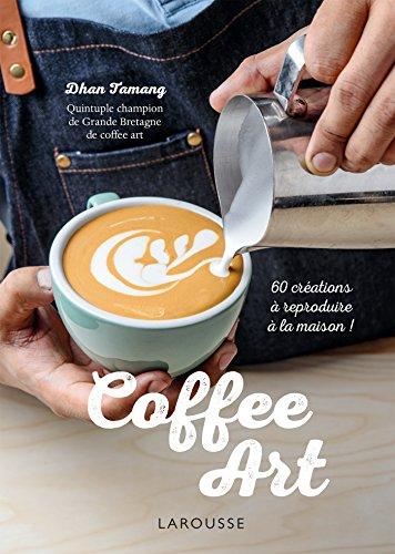 Coffee art par Dhan Tamang