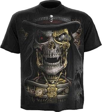 Spiral - Men - STEAM PUNK REAPER - T-Shirt Black - Small