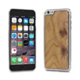 Cover-Cover-Up WoodBack Echtholz Transparent Schutzhülle für Apple iPhone 6 / 6s Plus Karpaten UlmeWoodBack Echtholz Transparent Schutzhülle für Apple iPhone 6 Plus Carpathian Elm Burl