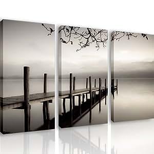 Mnd16 souls 3 quadri moderni 120x80 cm stampa for Arredo casa amazon