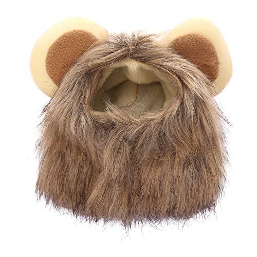 GAONAH Haustier Hut Halloween Haustiere Hut Perücke Kopfschmuck Für Urlaubspartys Halloween Weihnachten Und ()