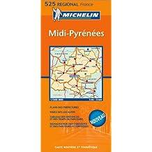 Carte routière : Midi-Pyrénées