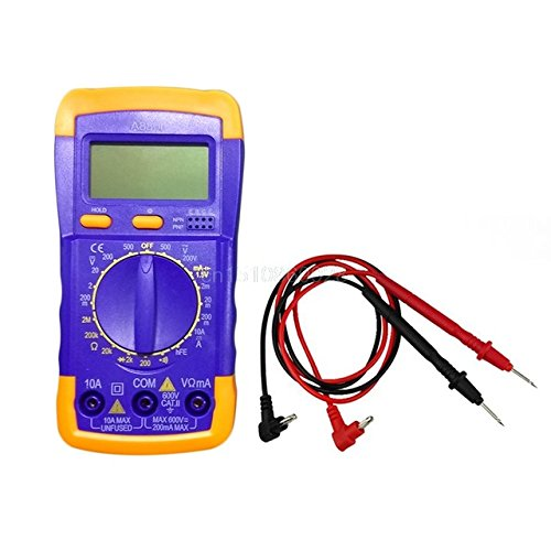 Generic A830l Lcd Digital Multimeter Dc Ac Voltage Diode Freguency- Parent