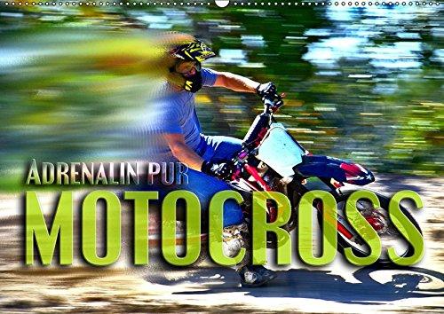 Motocross - Adrenalin pur (Wandkalender 2019 DIN A2 quer): Atemberaubende Szenen aus der Welt des Motocross (Monatskalender, 14 Seiten ) (CALVENDO Sport)