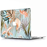 AQYLQ MacBook Schutzhülle/Hard Case Cover Laptop Hülle [Für MacBook Pro 13 Zoll mit Retina Display - ohne CD-Laufwerk: A1425/A1502] Blumen Muster Hülle, Pflanze