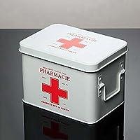 Medizinschränke Medizin-Box Haushalt Notfall verzinktem Blech Apotheke Multilayer-Sicherheitsschloss Erste-Hilfe-Kit... preisvergleich bei billige-tabletten.eu