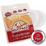 HeatPaxx Fußwärmer - Hauchdünne Zehenwärmer für unterwegs - endlich Wieder warme Füße - 5 x 2, 15 x 2 oder 40 x 2 Wärmepads im praktischen Vorteilspack (15)