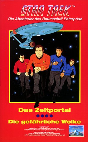 Star Trek Zeichentrick 01 - Das Zeitportal/ Die gefährliche Wolke [VHS]